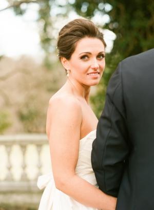 Bride in Classic Updo