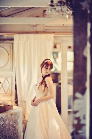 Bride in Jim Hjelm