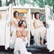 Brides Vintage Car