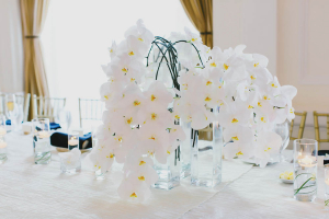 Cascading Orchid Centerpiece
