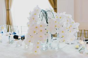 Cascading Orchid Centerpiece