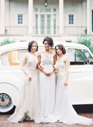 Delicate Wedding Gowns
