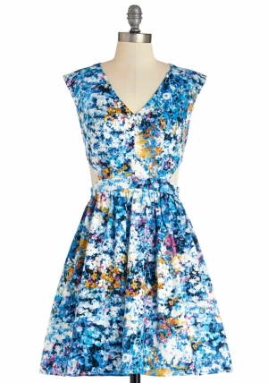 Destination Darling Dress in Bluebell