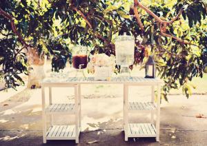 Drink Station at Wedding