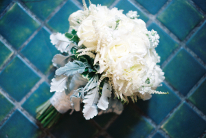Dusty Miller and Ivory Bouquet