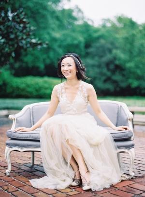 Elegant BHLDN Gown