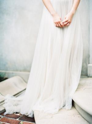 Elegant Chiffon Gown