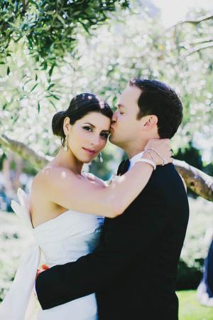 Elegant Modern Bridal Attire