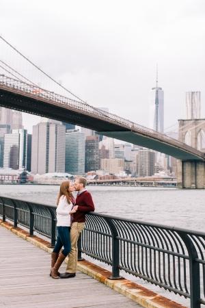 Engagement Photos Brooklyn Bridge