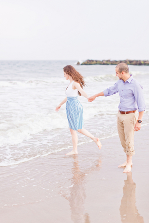 Engagement Photos on the Beach