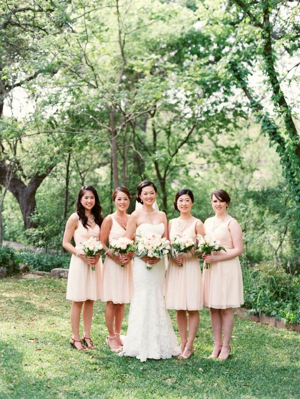 blog pink bridesmaid dresses gallery image
