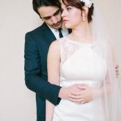 Lace Details on Bridal Attire