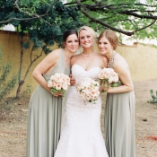 Light Gray Bridesmaids Dresses