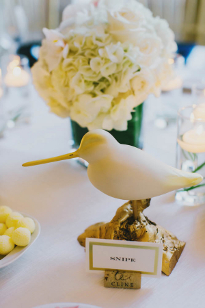 Lovebird Wedding Reception Decor