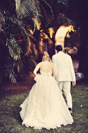 Lush Hawaii Wedding