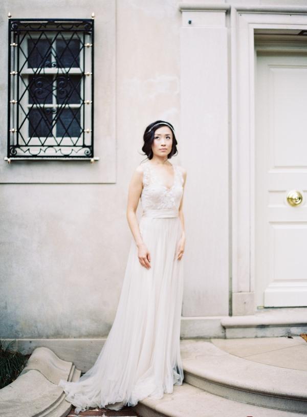 Onyx Gown by Catherine Deane - Elizabeth Anne Designs: The Wedding Blog