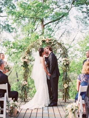 Outdoor Texas Ranch Wedding Ceremony