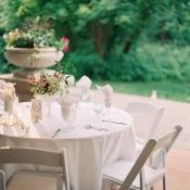 Pink and White Garden Wedding