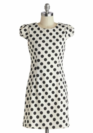 Polka Dot Dress From Modcloth