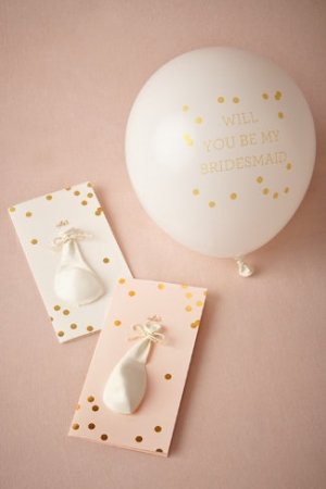 Pop The Question Maids Card From Sugar Paper