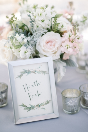 Pretty Handdrawn Table Names