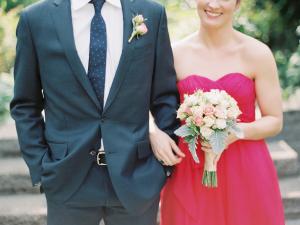 Raspberry Pink Bridesmaids Dress