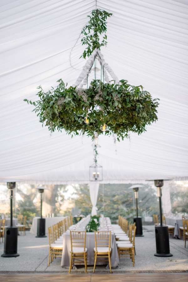 Reception with Greenery