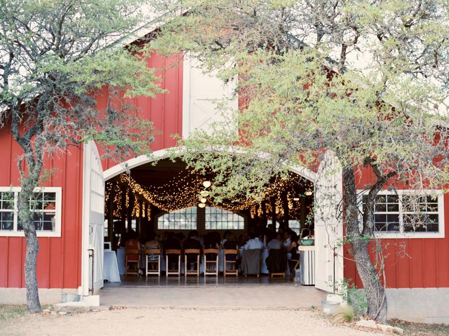 Red Barn Texas Wedding Venue