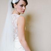 Romantic Bohemian Bridal Attire