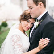 Romantic SLC Wedding