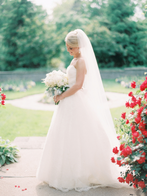 Romantic St Louis Bride