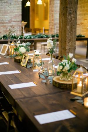 Rustic Elegant Reception Ideas