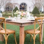 Rustic Handmade Wood Table