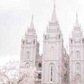 Salt Lake Temple Wedding Venue