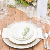 Silver Reception Place Setting