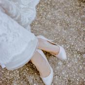 Simple Bridal Heels