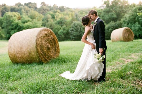 Southern Wedding Kiss