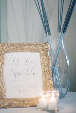 Sparklers for Wedding