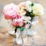 Spring Florals in Jars