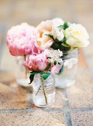 Spring Florals in Jars