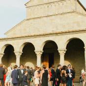 Stone Church Venue in Italy