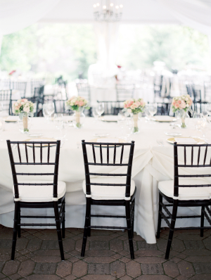 Tabletop with Chivari Chairs