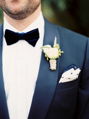 Twine Wrapped Boutonniere
