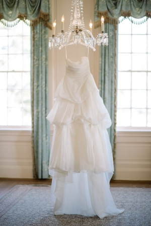 Vera Wang Tiered Gown