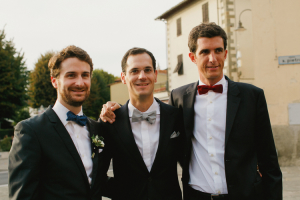 Wedding Guests in Bow Ties