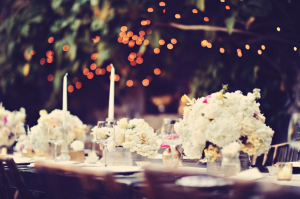 White Low Centerpiece