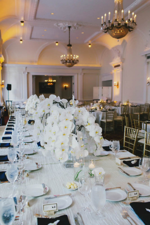 White Orchid Reception Arrangements