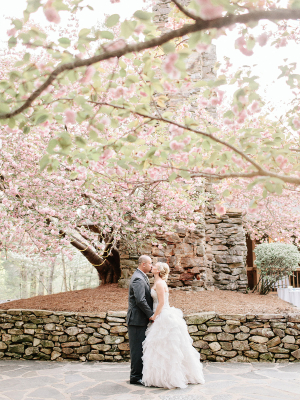 Atlanta Wedding with Cherry Blossoms