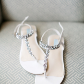 Beaded Bridal Sandals