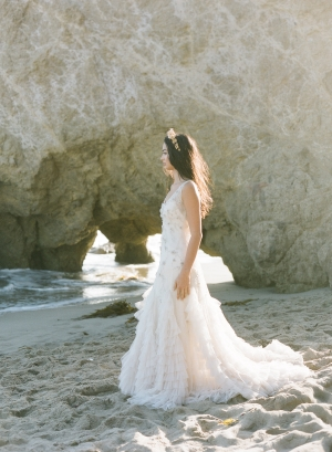 Beaded Romantic Bridal Gown